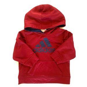 Adidas Baby Boy Hooded Sweatshirt